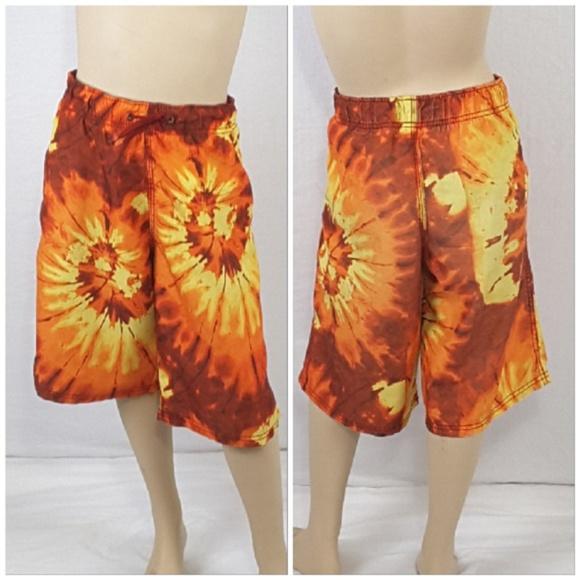 Other - *BOYS* Fireball Motif Swim Trunks size X-Large